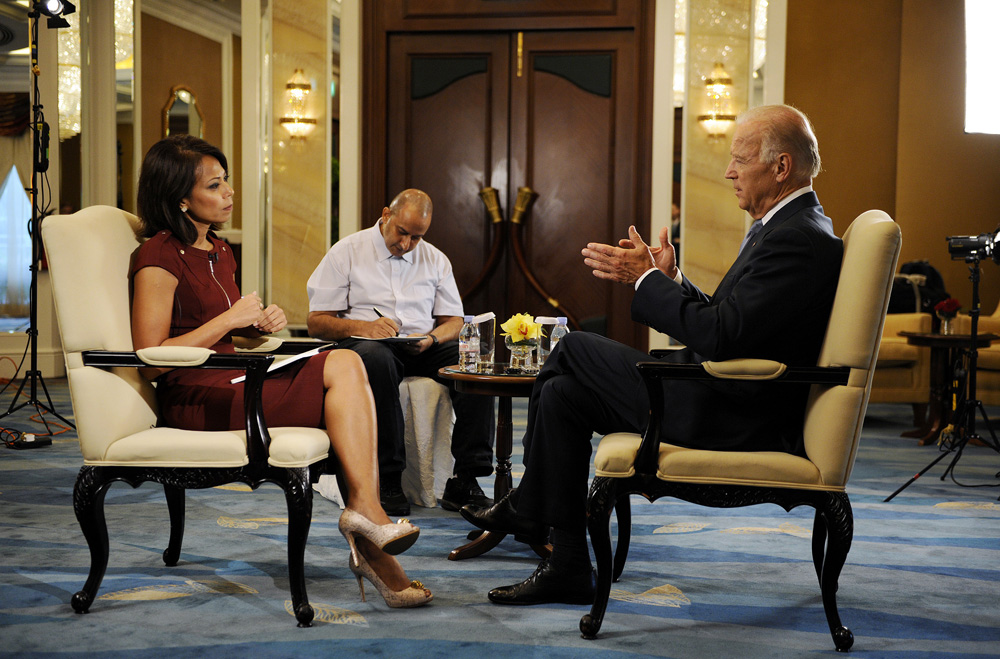 U.S. Vice President Joe Biden Interview