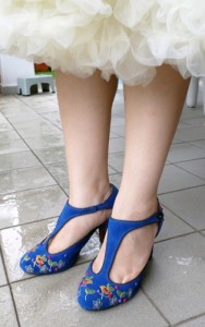 Wedding Blue Shoes