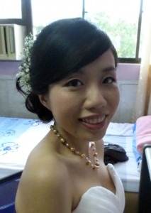 Wedding Hair Baby Breathes