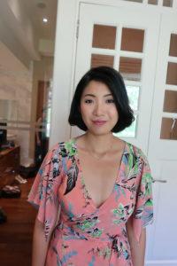 Makeup artist Fionna Lau Singapore