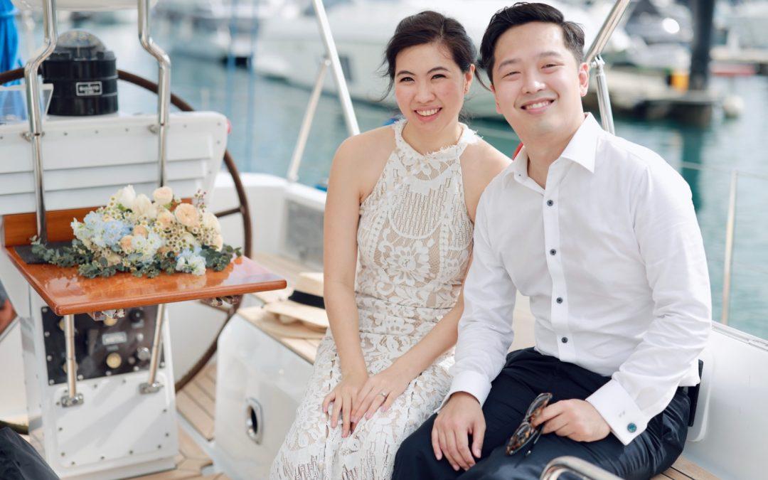 Liteng's Yacht Wedding